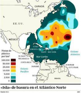 Mancha de basura do Atlántico Norte