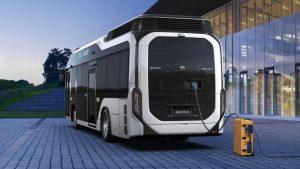 Toyota sora o primer autobús de pila de combustible