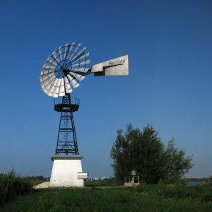 Windmotor De Putter, Westerbroekstermadepolder, Groningen, NL